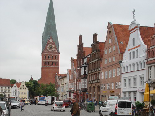 St. Johannis church in Luneburg